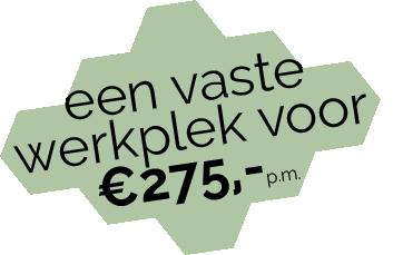 Toffe Werkplek - wolk van een vaste prijs - 275